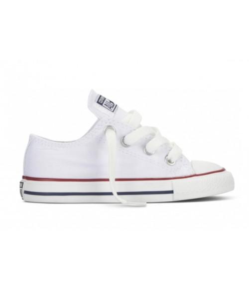 Кеды детские Converse All Star (Конверс) белые низкие