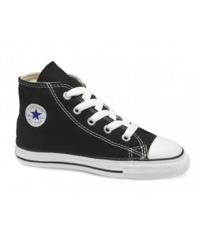 Кеды Converse All Star (Конверс) черно-белые высокие