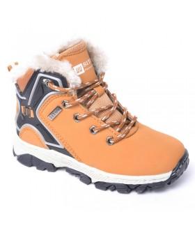 Детские ботинки для девочек SITUO зимние светло-коричневые