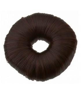 Валик для пучка темно-коричневый 7 см