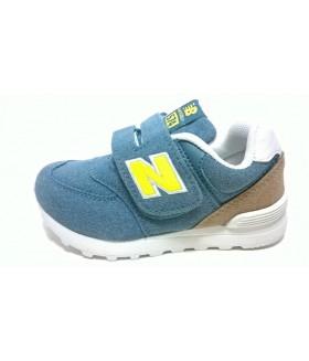 Кроссовки детские Нью Баланс 574 (New Balance 574) унисекс голубые