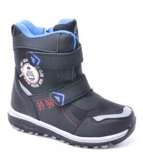 Детские ботинки для мальчиков МИКАСА зимние черные