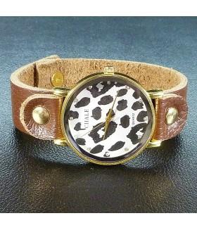 Часы женские CHALE с кожаным ремешком