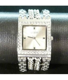Часы женские GUESS (Гесс) с широким металлическим браслетом