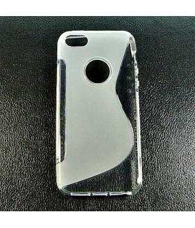 Чехол для iPhone (Айфон) 5/5s/5se силиконовый полупрозрачный