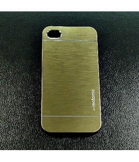 Чехол для IPHONE 4/4S алюминиевый золотого цвета