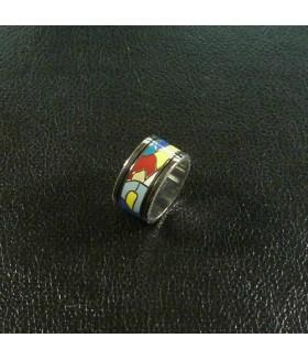Кольцо из медицинской стали с эмалью FREY WILLE (ФРЕЙ ВИЛЛИ)
