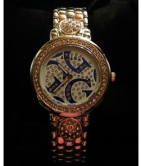Часы женские GUESS (Гесс) с металлическим браслетом