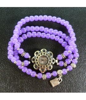 Часы/браслет RSOL на резинке фиолетовые