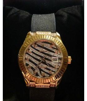 Часы женские ROLEX (Ролекс) со стразами