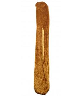 Заколка софиста-твиста коричневая