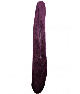 Заколка софиста-твиста фиолетовая