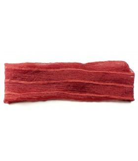 Повязка для волос красная