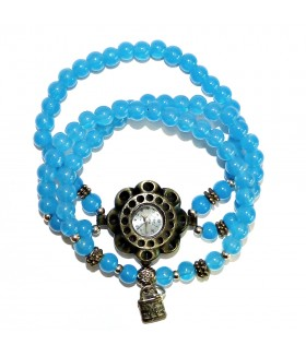 Часы RSOL с голубым браслетом