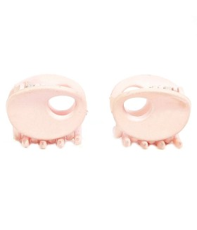 Крабик для волос розовый набор 2 штуки