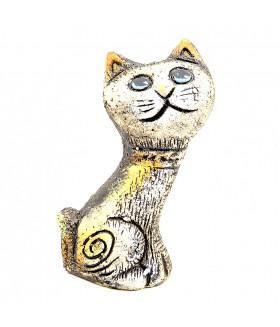 Сувенир кошка из керамики