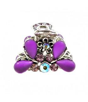 Крабик с фиолетовыми вставками