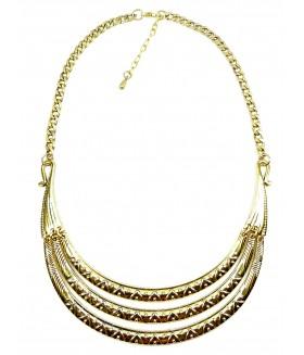 Колье/ожерелье бронзового цвета
