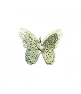 Подвеска бабочка золотистого цвета