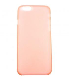 Чехол для iPhone (Айфон) 6/6s полупрозрачный розовый