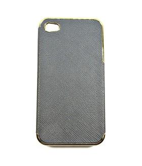 Чехол для IPHONE 4/4S кожаный черный