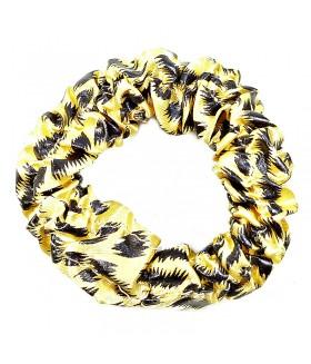Резинка для волос черно-желтая