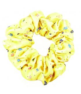 Резинка для волос большая желтая