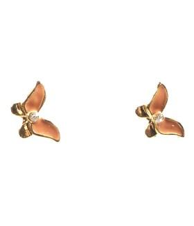 Серьги гвоздики маленькие бабочки