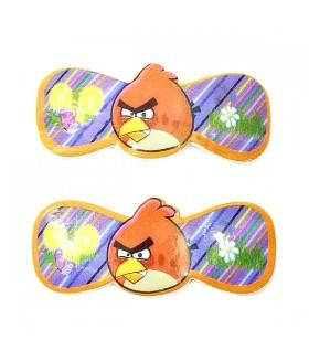 Заколка для волос детская мультфильмы набор 2 штуки