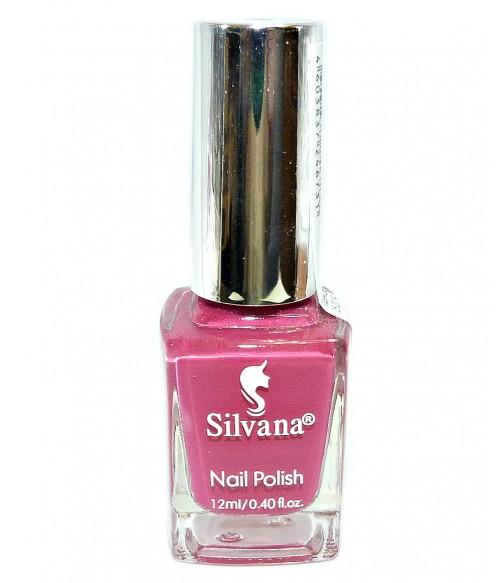 Лак для ногтей Silvana (Сильвана) тон 12 сиреневый перламутровый
