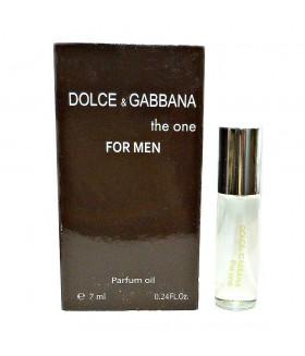 Духи мужские масляные Dolce & Gabbana The One (Дольче Габбана зе ван)