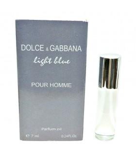 Духи мужские масляные Dolce & Gabbana Light Blue (Дольче Габбана  Лайт Блю)