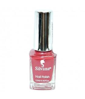 Лак для ногтей Silvana (Сильвана) тон 23 темно-красный перламутровый