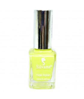 Лак для ногтей Silvana (Сильвана) тон 40 желто-салатовый перламутровый