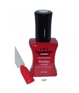 Лак для ногтей ШЕЛЛАК (SHELLAC) MASTER тон 047 профессиональный