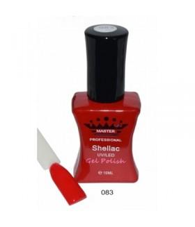 Лак для ногтей Shellac (Шеллак) MASTER тон 083 профессиональный