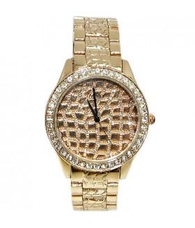 Часы GUESS с браслетом и стразами