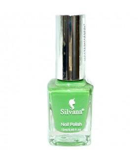 Лак для ногтей Silvana (Сильвана) тон 41 зеленый перламутровый