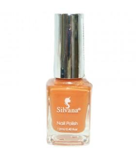 Лак для ногтей Silvana (Сильвана) тон 65 оранжевый перламутровый