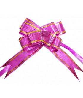 Подарочный бантик маленький лиловый