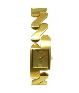 Часы GUCCI с металлическим браслетом золотистые