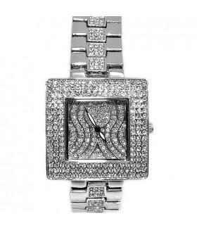 Часы Chopard с браслетом и стразами