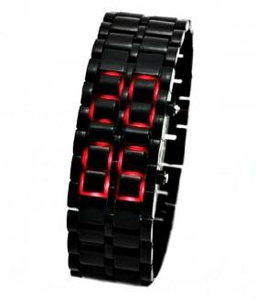 Часы браслет Iron Samurai (Самурай) электронные черные