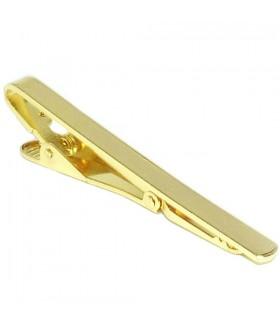 Зажим для галстука золотистый