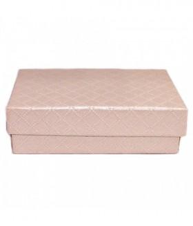 Подарочная коробка маленькая розовая