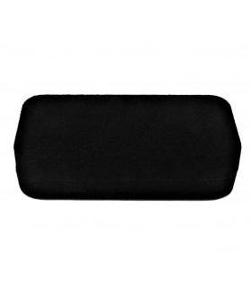Подарочная коробка маленькая бархатная черная