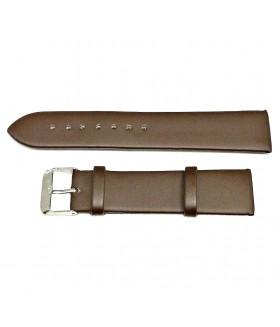 Ремешок для часов кожаный коричневый