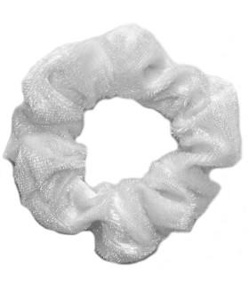Резинка для волос белого цвета