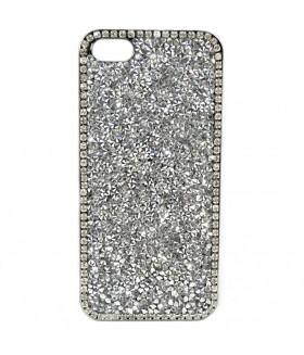 Чехол для iPhone (Айфон) 5/5s/5se с кристаллами