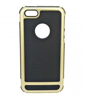 Чехол для iPhone (Айфон) 5/5s/5se резиновый черный